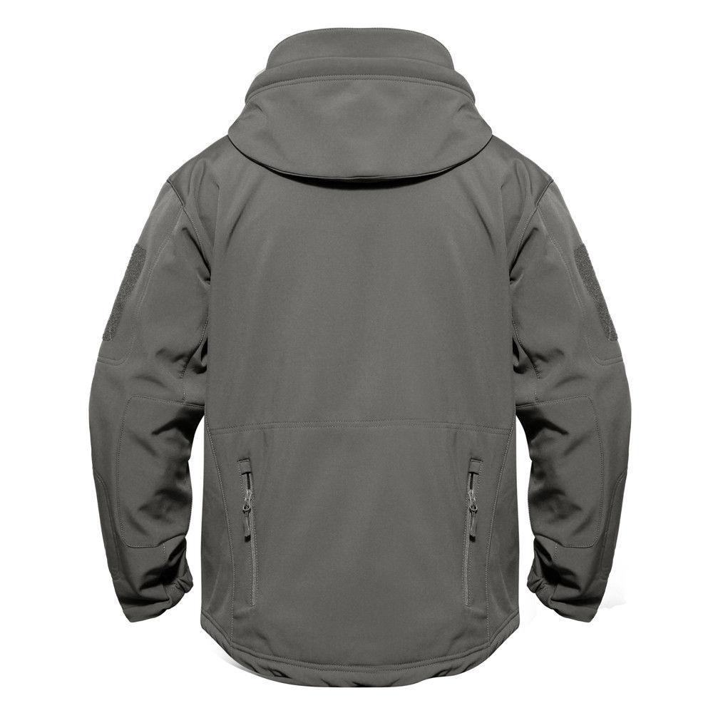 Mens Waterproof Military Coat