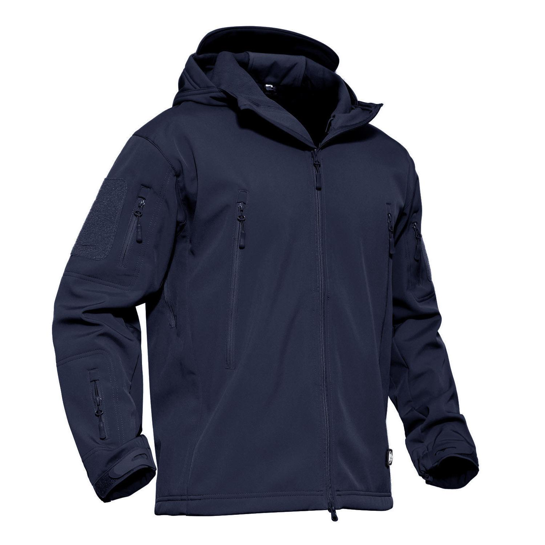 Mens Waterproof Jackets Military Jacket Coat Fleece Parka