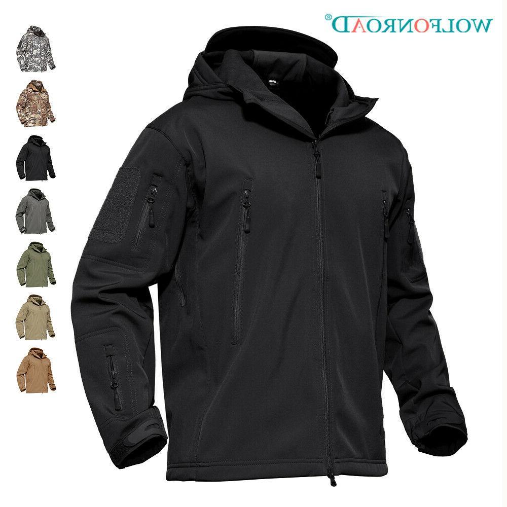mens waterproof jackets army military tactical jacket