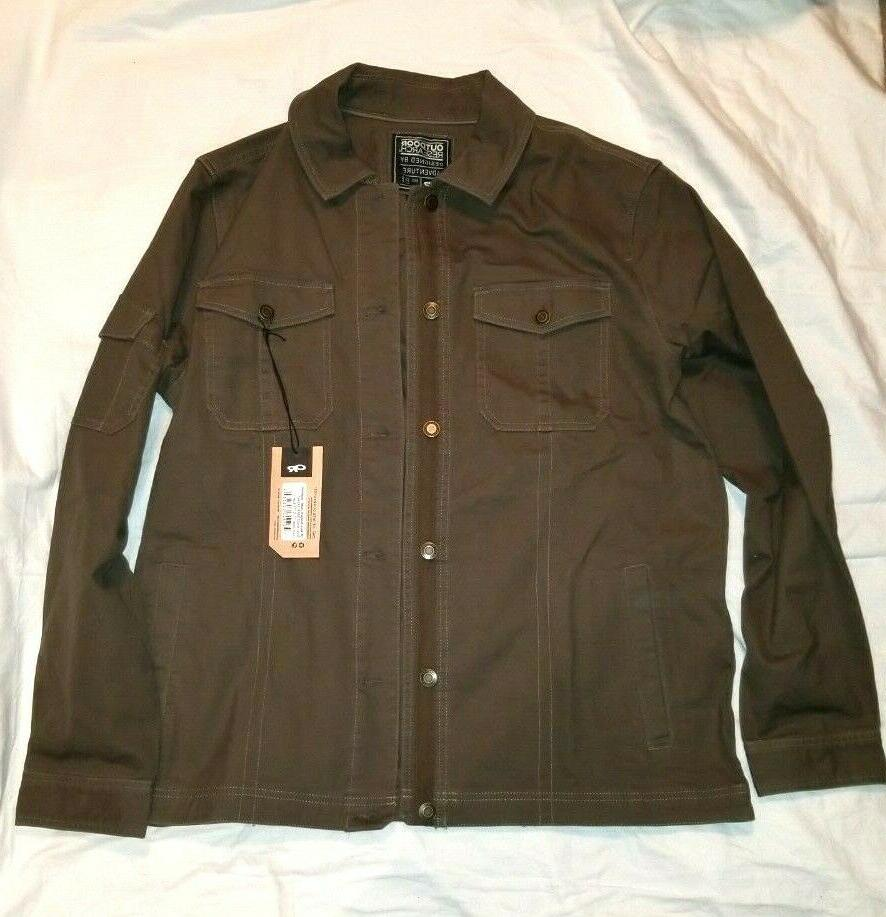 Outdoor Mens Winter Deadpoint Jacket - Mushroom Brown
