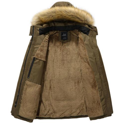Mens Winter Hoods Outerwear Fit Tall