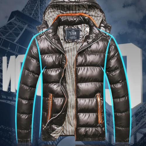 Mens Winter Down Coat Parka
