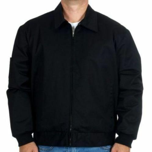 mens work mechanic jacket style zip jacket
