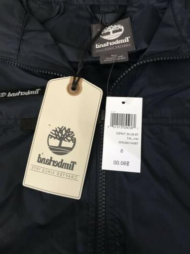 Nylon Jacket Golf Navy Blue S