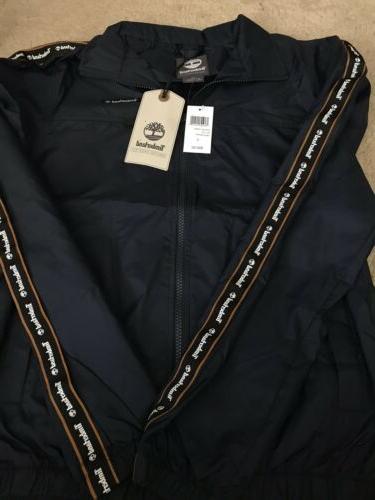 mens zip up nylon jacket small windbreaker