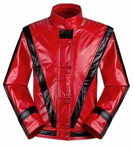 michael jackson thriller jacket men kids mj