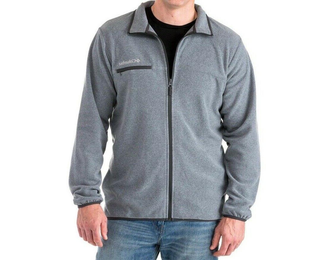 Columbia Mountain Full-Zip Fleece NWT