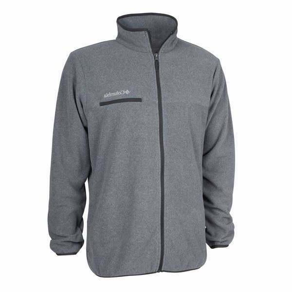 mountain crest full zip fleece jacket men