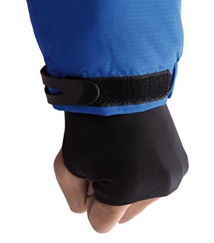 Wantdo Men's Waterproof Ski Jacket Windproof Rain Jacket