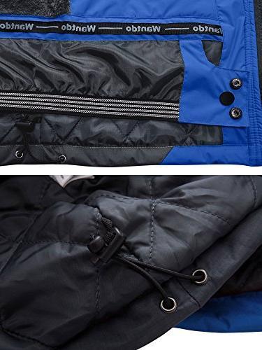 Wantdo Men's Mountain Waterproof Ski Jacket Jacket