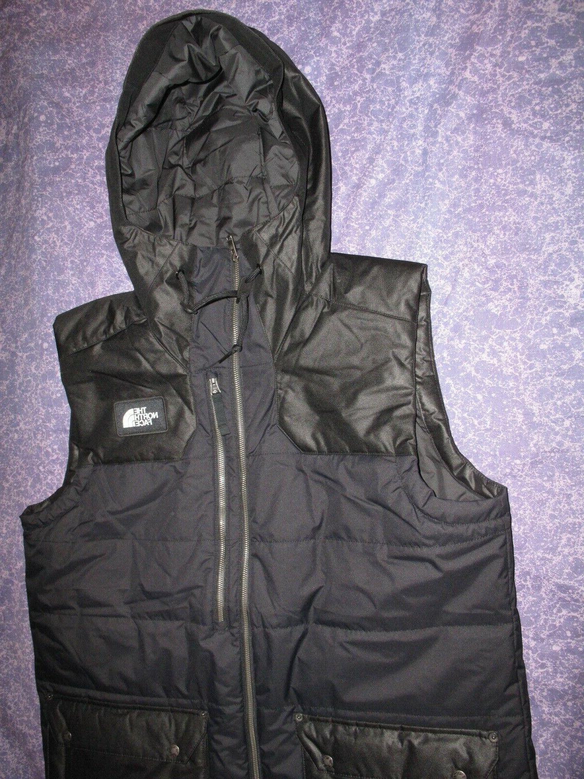 New North Face Black Men's Large Camshaft Vest Jacket