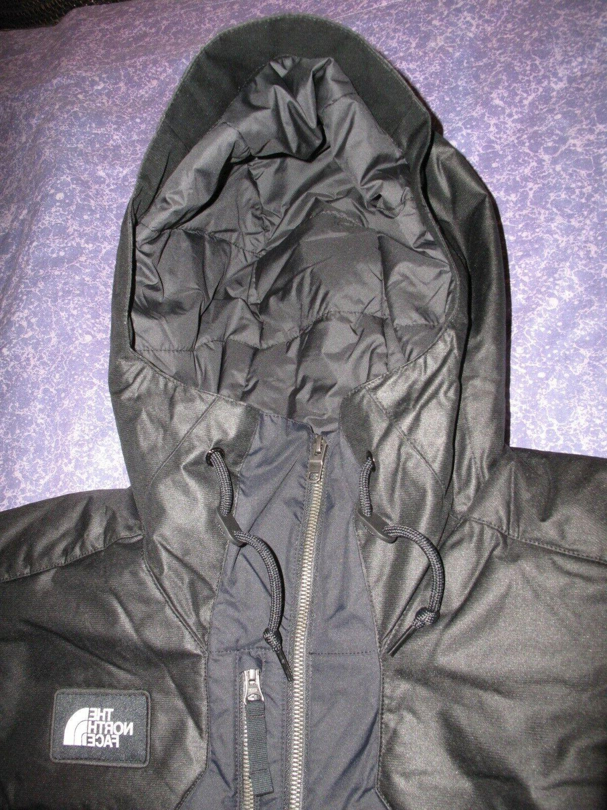 New Black Face Men's Large L Vest Jacket