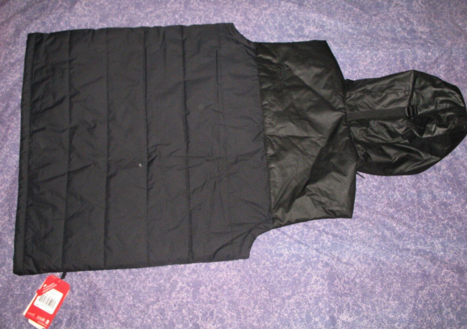 New Black The Face Large Hooded Vest Jacket