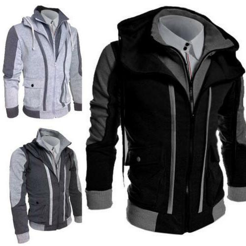 New Fashion Men's Slim collar jackets fashion jacket Tops Ca