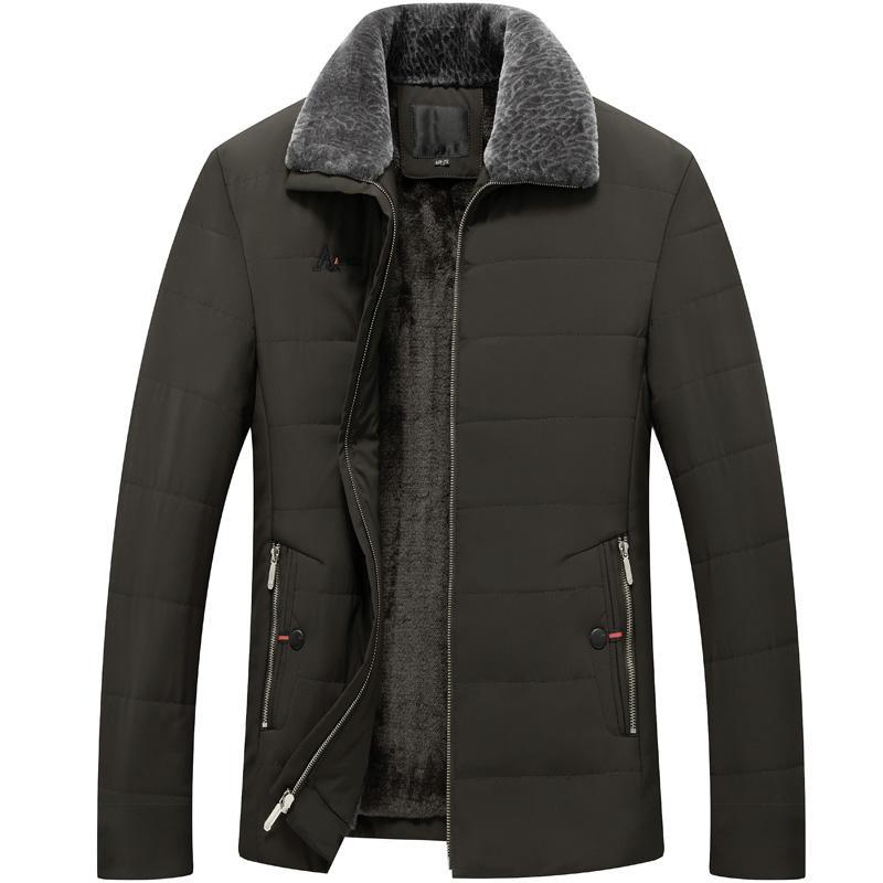 New <font><b>men's</b></font> cotton velvet thick coat, slim color short <font><b>jacket</b></font>