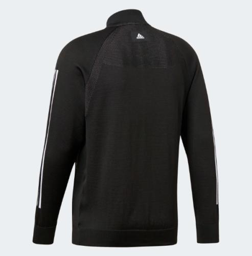 new adidas KNIT BOMBER black athletics gym run