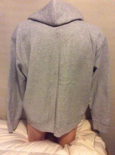 Hanes NEW 2XL Fleece Gray Sweatshirt
