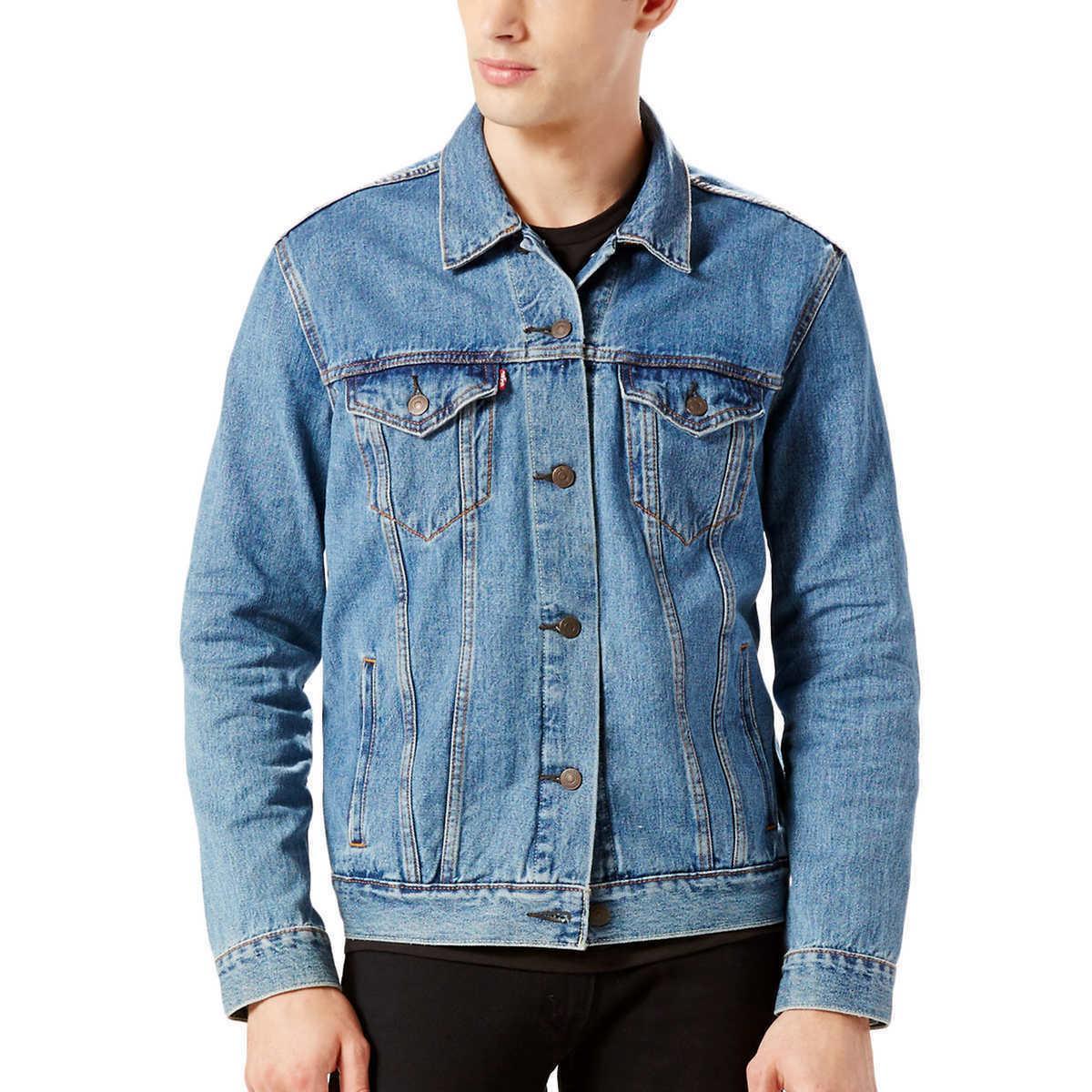 new levis mens trucker jacket