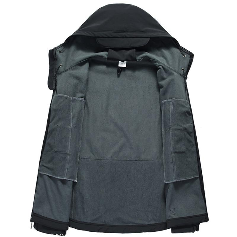 New Lurker Shark Soft <font><b>Shell</b></font> V5 Tactical <font><b>Jacket</b></font> Waterproof Windproof Army