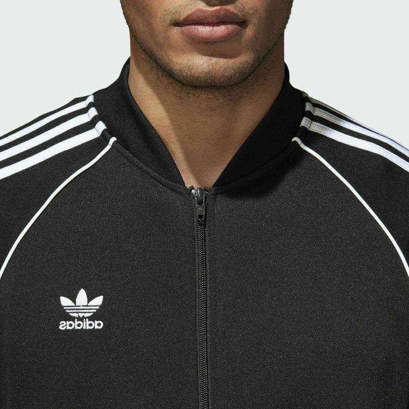 New Men ADIDAS Originals Superstar Track Jacket //