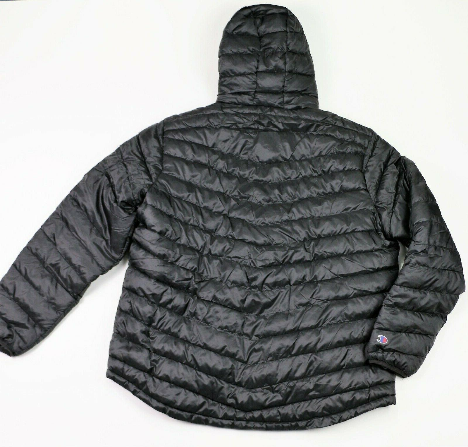 New Men's Champion Insulated Puffer Jacket Sizes L,
