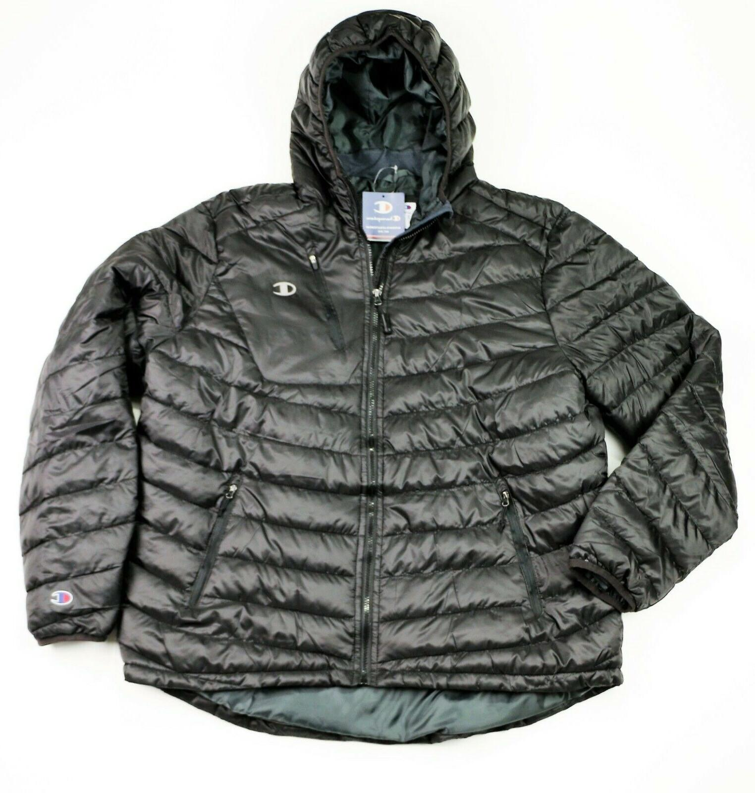 new men s insulated puffer jacket sizes