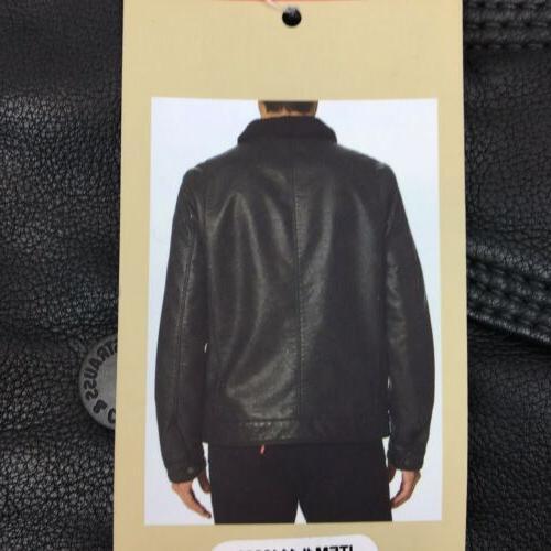 NEW Leather Jacket Black