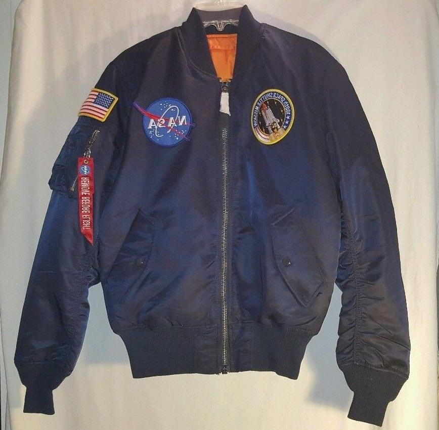 NEW INDUSTRIES NASA JACKET SIZE SMALL