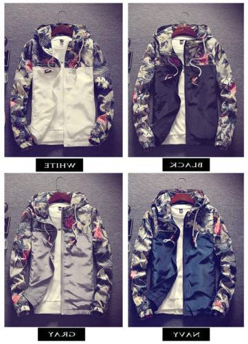 New Men's Slim Collar Jackets Fashion Jacket Tops Casual Coa