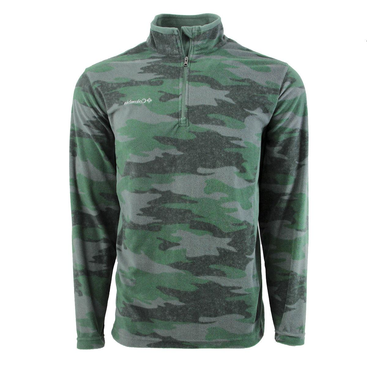 New Columbia Tech Pine Half Jacket Fleece Mountain II