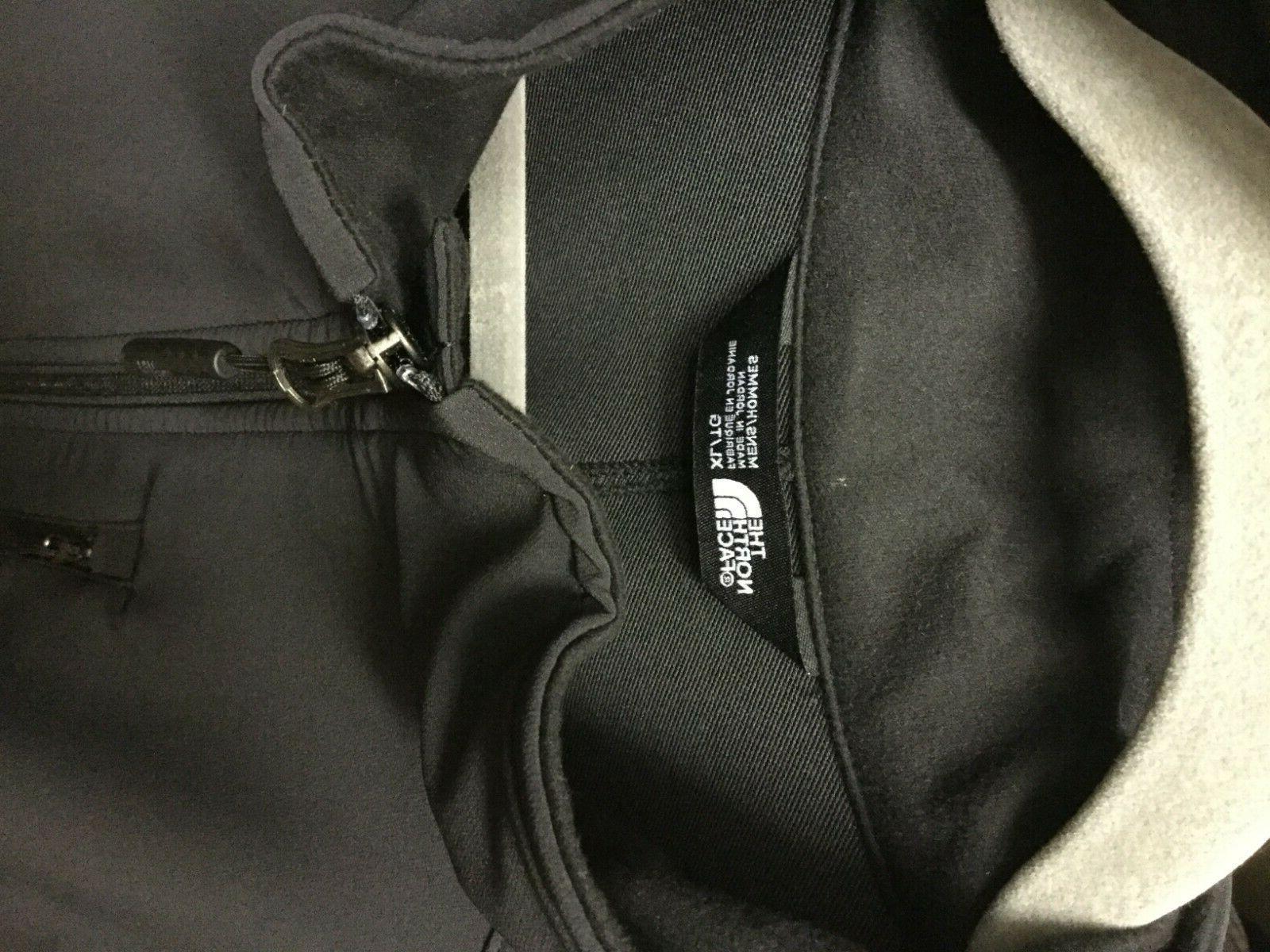 New The North Men's Tech Stretch Shell Jacket TNF Black
