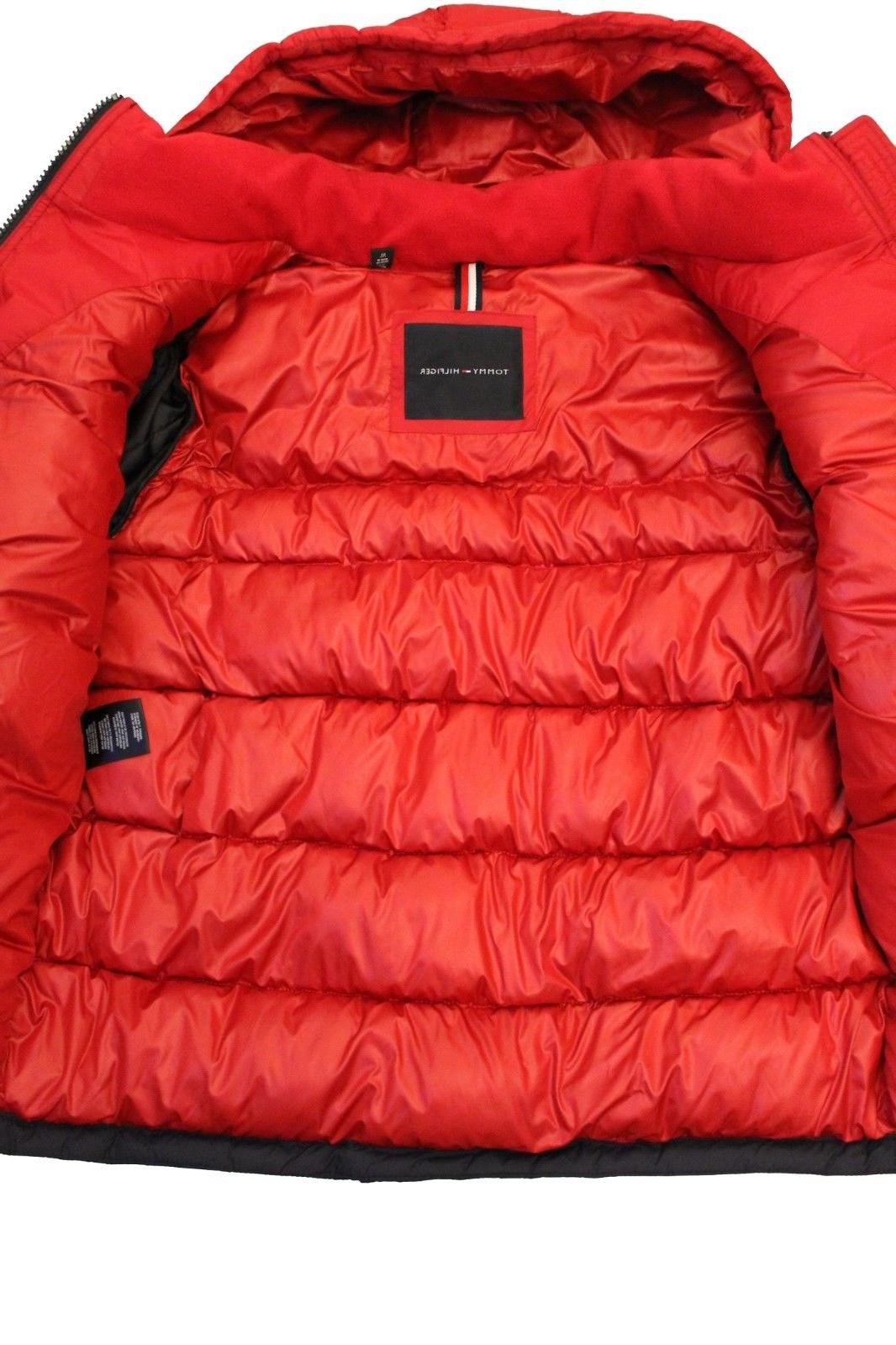 New Tommy Hilfiger Ultra Hooded Puffer Jacket