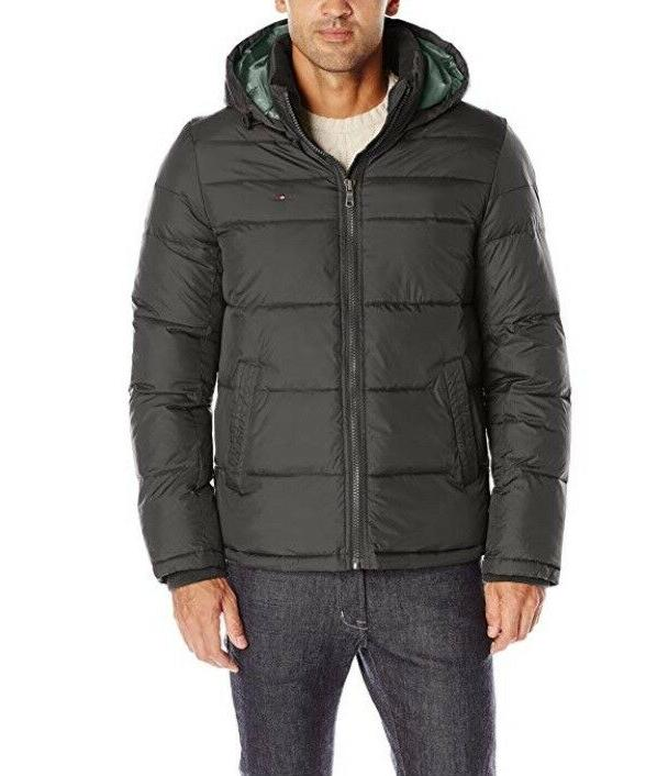 New Hilfiger Ultra Loft Insulated Hooded Puffer