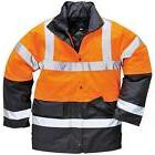 New PORTWEST Mens Safety Work Hi Viz Visibility Traffic Jack