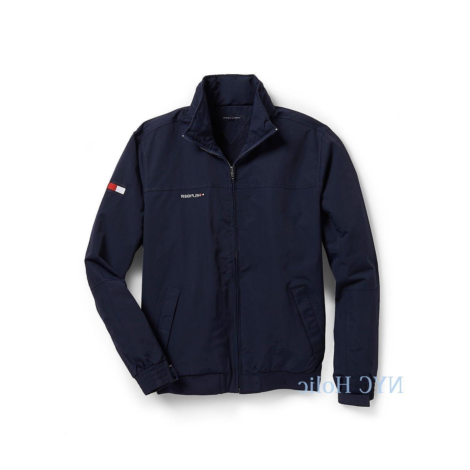 New Tommy Yacht Jacket Navy All Sizes Water