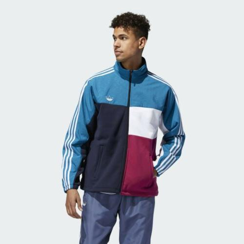 new originals asymm full zip track jacket