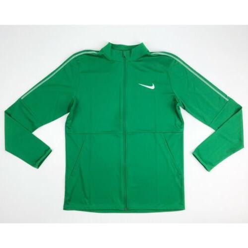 New Nike Park 18 Knit Track Full Zip Jacket Men's Large Gree
