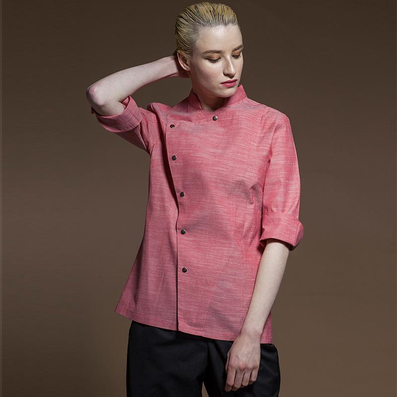 New Unisex Japanese Korea cook top waiter work shirt
