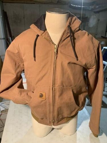 New Hoodie Duck Brown Size Regular