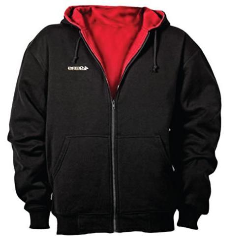 nfl craftsman zip thermal hoodie
