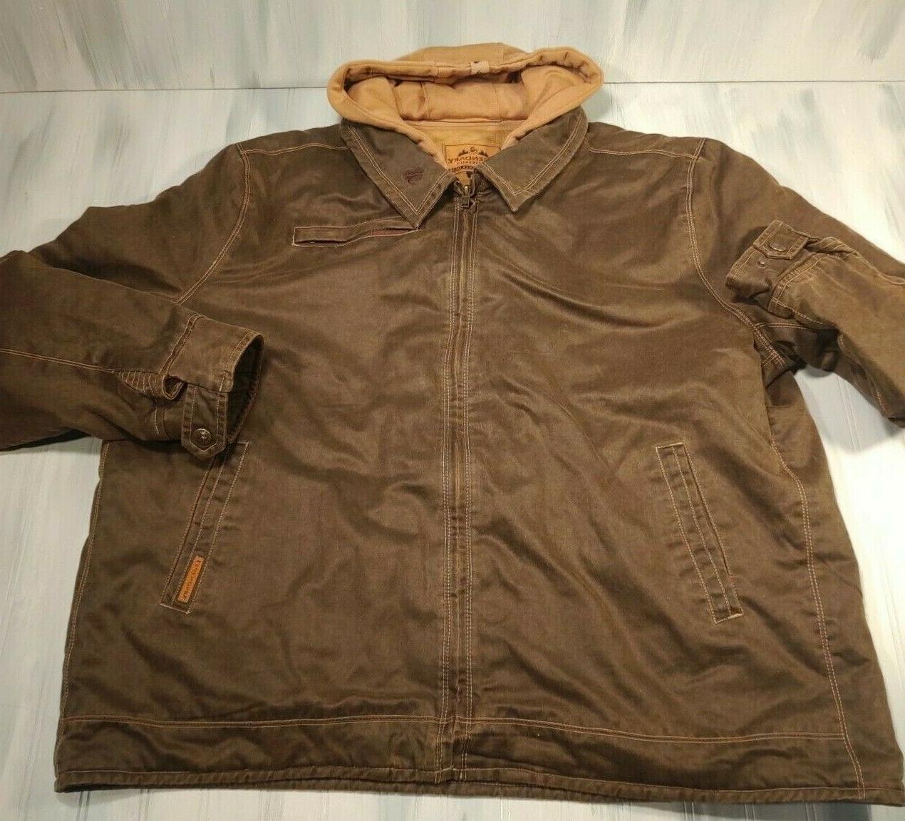 NWOT Legendary 2xl Rugged Full Dakota Jacket -