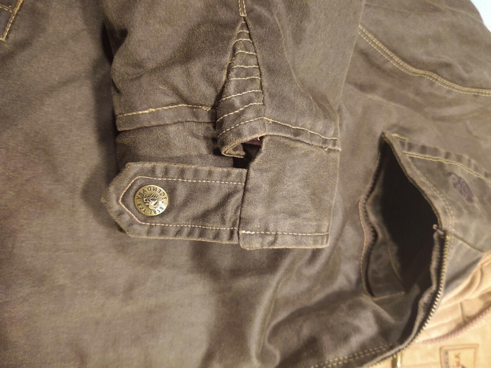 NWOT Legendary Whitetails Men's 2xl Rugged Full Zip Dakota
