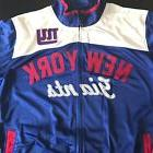 NWOT NY GIANTS Jacket Mens XL Blue White NFL Coat Windbreake