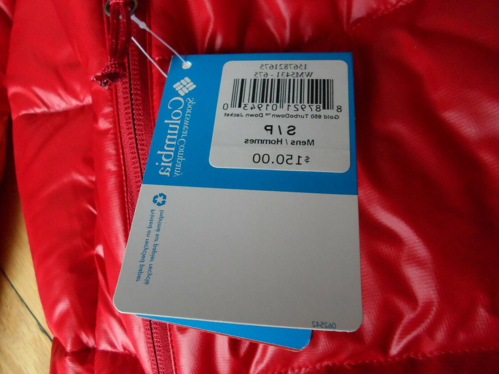 NWT 650 JACKET PUFFER RED