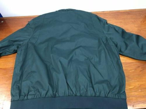 NwT Racer Green Jacket Mens Size
