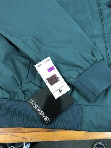NwT Only Cafe Racer Hunter Green Jacket Mens Size XXL