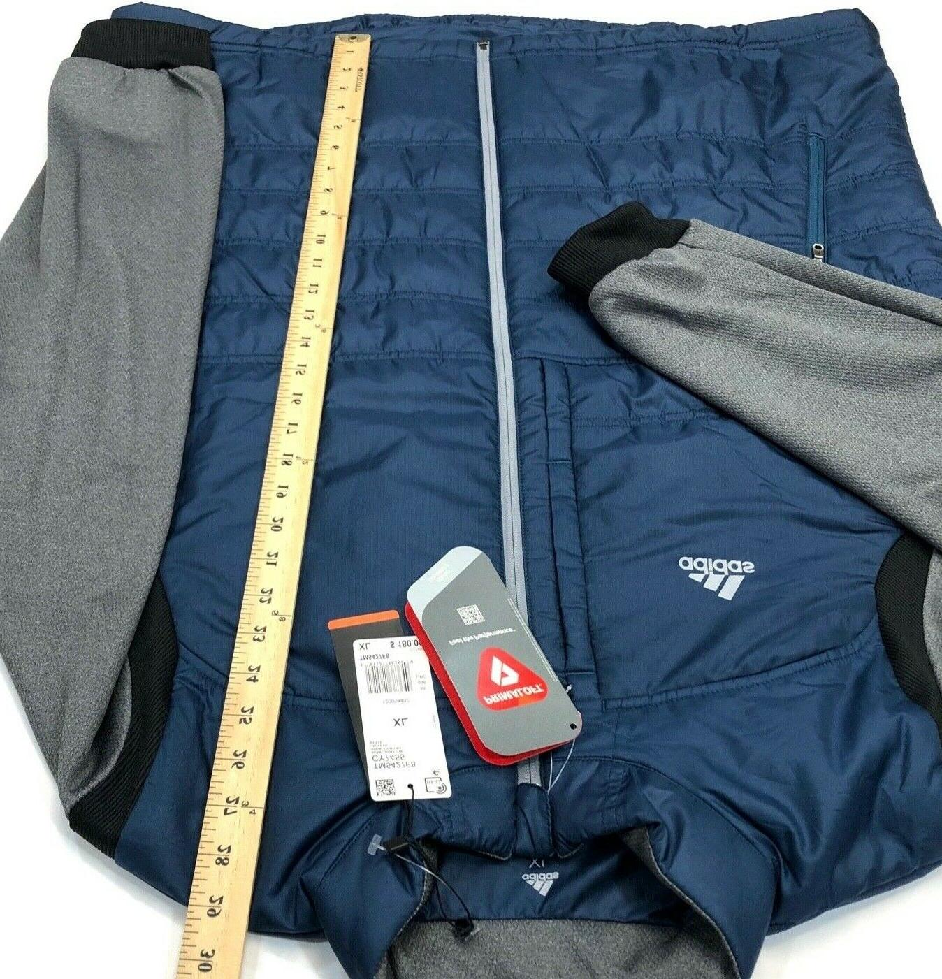 NWT 2018 Men Climaheat Frostguard Primaloft Jacket Grey $180