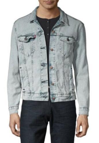 NWT!!Levi's Men's Spire Denim Trucker Jacket 2 Colors SZ S