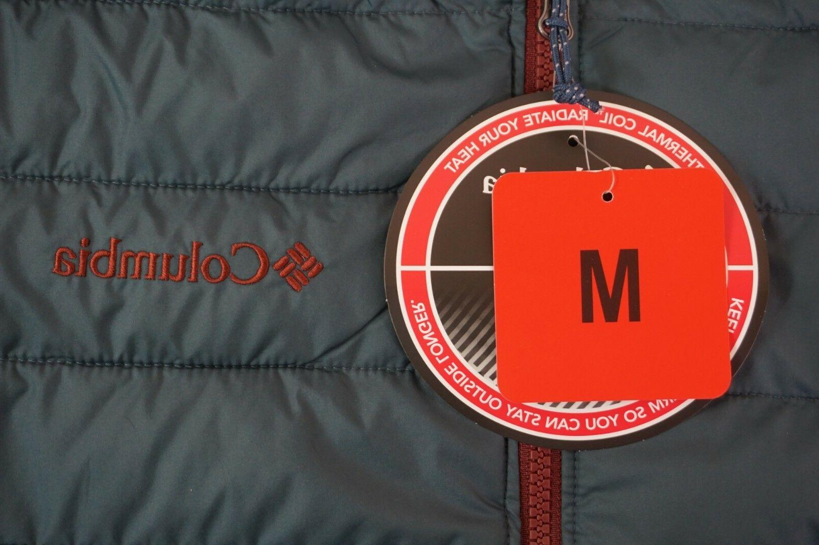 NWT Men's Water Resistant Thermal Puffer M-2XL