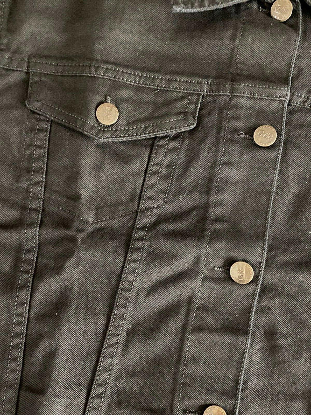 NWT RND Classic Black Denim Jacket SIZES S-2XL